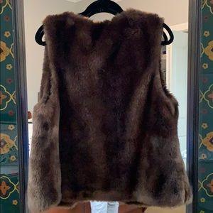 Sanctuary Jackets & Coats - Anthropologie by sanctuary faux fur vest